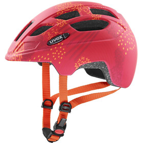 UVEX Finale CC Casco Niños, red orange mat